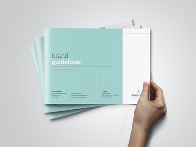 Horizontal Brand Guidelines design magazine layout indesign editorial creative business brochure guidelines brand guideline brand guidelines branding brand