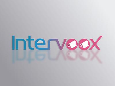 re vectorization of graphic identity / Intervoox re-vectorization vectorization vector logo branding animation design graphic design