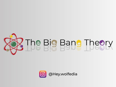 vector the big bang theory illustration vector motion graphics animation design graphic design