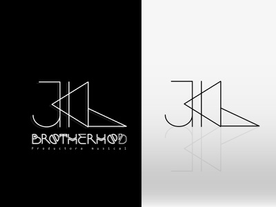 graphic identity for music production company / JKL illustrator motion graphics vector tipography music branding logo design graphic design