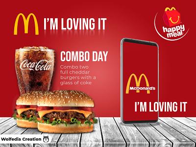 mcdonald advertising mcdonald advertisting instagram motion graphics illustration logo animation branding design graphic design