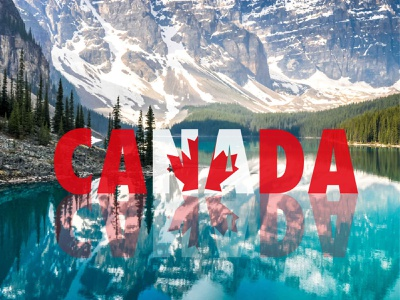 Canada cover webpage cover illustration animation vector motion graphics design graphic design