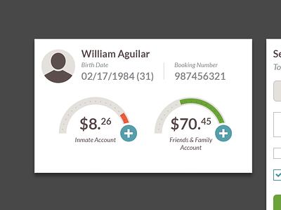 Deposit Funds deposits list statements balances dashboard ui account management finances