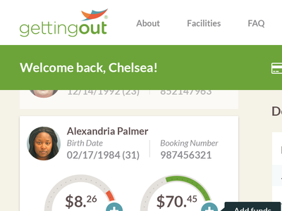 Account Overview - Concept deposits list statements balances dashboard ui account management finances