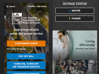 LADWP - Responsive Web Design
