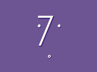 7 by Marco Madonna via dribbble
