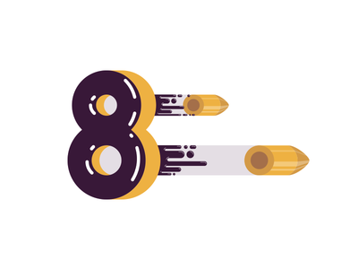 8 by Marco Madonna via dribbble