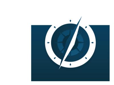 Amodal illustration - Compass