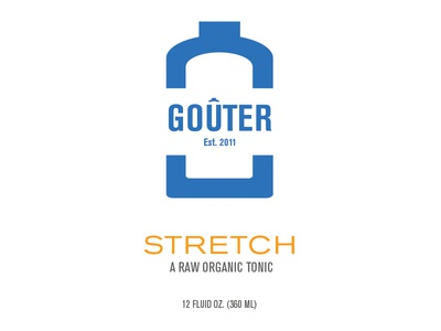 Goûter Bottle Packaging