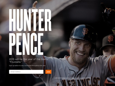 HunterPence.com Holding Page