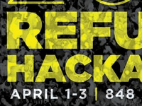 Refugee Hackathon Share Graphics
