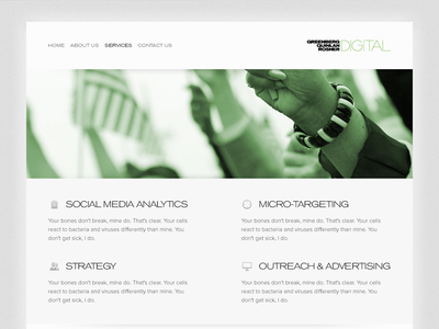 GQRD: Services