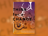 THINK for a CHANGE Event Poster