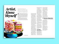 Editorial Page Design