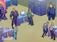 Police farm