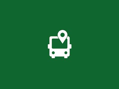 Public Transport Icon public transport icon illustrator geolocation bus design illustration