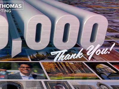 1,000,000 1 million 1 000 1m 1000000 din filmotype lasalle 3d specular reflection