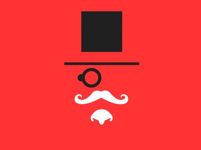 Cod Blackops mustache top hat monocle call of duty blackops