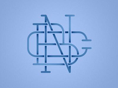 CBN Monogram monogram shadow layers practice