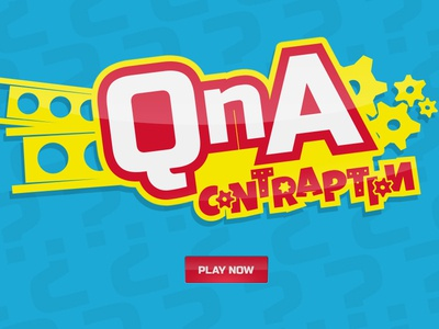 QnA contraption qna gears questions cartoon primary colors russo one