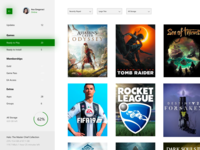 My Games & Apps - Xbox Dashboard Update