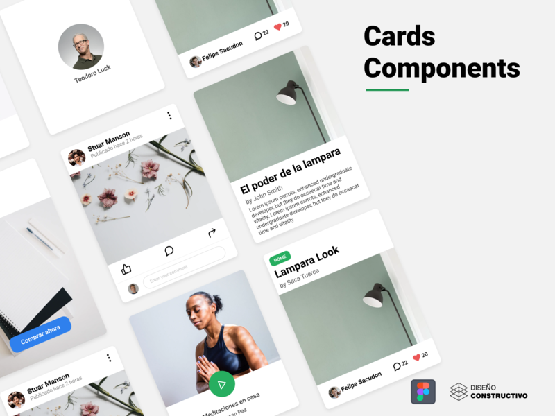 Card Component - Figma