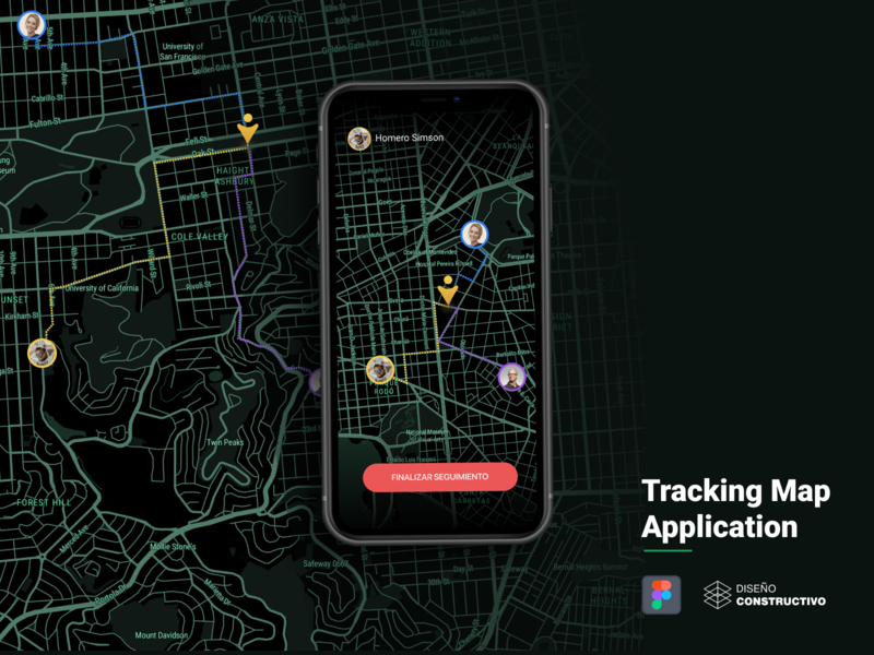 Tracking Map App - P2