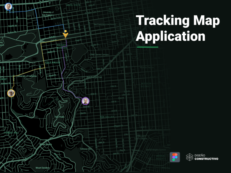 Tracking Map App - P3