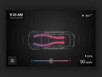 App for car - Safety [Concept] - A/C