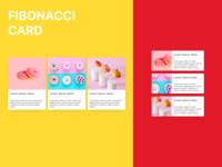 Fibonacci Card - Experimental