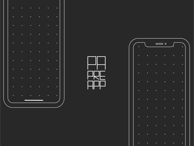 PAPREAPP - Free Template for Prototyping on Paper
