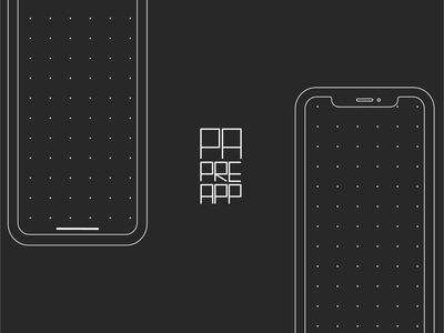 PAPREAPP - Free Template for Prototyping on Paper template pdf prototype free product paper prototyping ui app mobile iphone x concept design