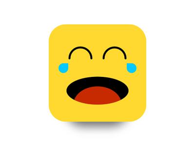 Smiley reaction laugh smile illustration designer affinity emoji smiley