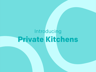 Private Kitchen Onboarding app foodybuddy entrepreneur cooking home chef simple loop interface food flat dailyui colorful minimal clean illustration motion interaction gif onboarding