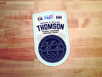 Cycling The US for ALS Sticker