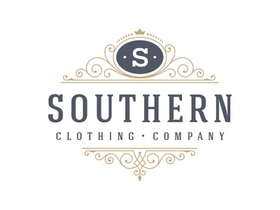 Southern Clothing Company branding mason dixon alabama mississippi souther logo design boutique logo clothing