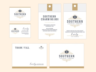 Southern Clothing Company Identity