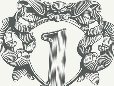 logotype logotype logo identity floral engraving