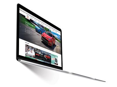 The All New Toyota.ca uiux design canada responsive website automotive toyota