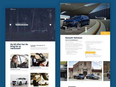 Autohuset Vestergaard Website design
