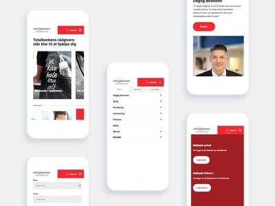 Totalbanken mobile