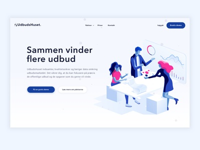 Udbudshuset website