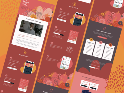 Dwell Treasure These Things app landing page web design