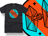 TIE Fighter on Cotton Bureau