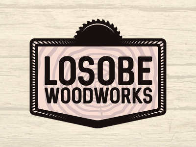 Losobe Woodworks Logo losobe pensacola logo woodworks wood