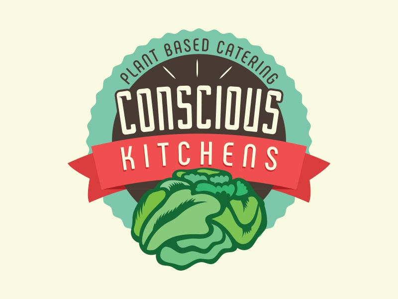 Conscious Kitchens Logo by Michael Daw on Dribbble