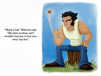 Wolverine Golden Book