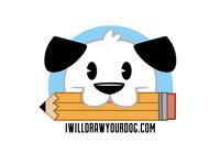 I will draw your dog logo