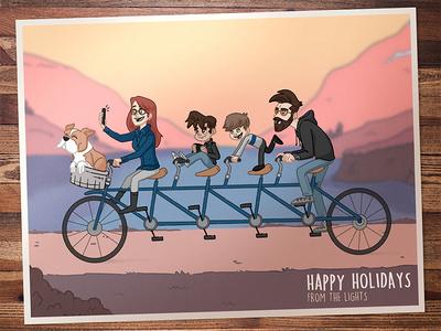 2018 Christmas Card holiday family card christmas xmas card