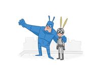 Tick and Arthur